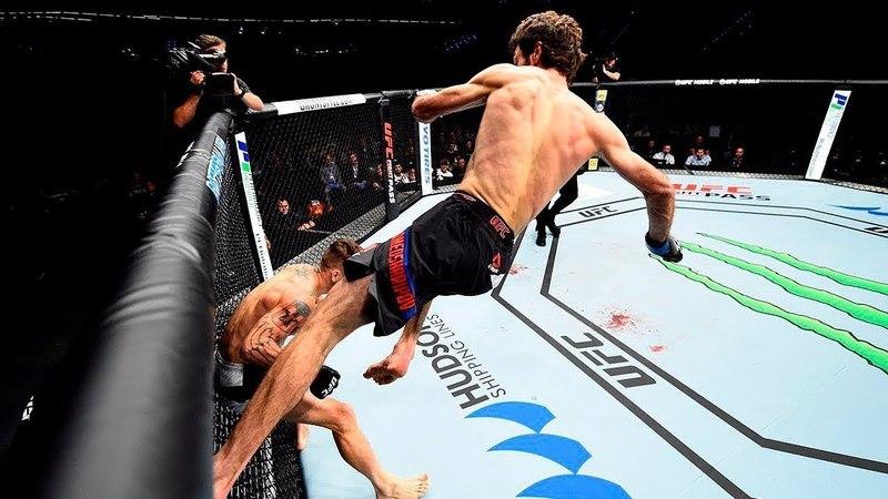 О БОЖЕ! ЭТО ЖЕ ЛУЧШИЙ ТОП КОГДА ВЫРУБИЛ С ОДНОГО УДАРА в UFC. ЛУЧШИЕ МОМЕНТЫ UFC 2017-2018