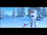 Улётный мульт! Лось и снеговик
