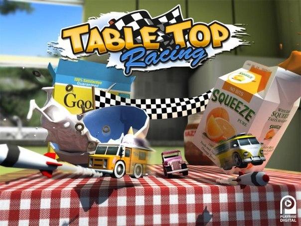 Скачать  Table Top Racing для android