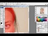 Видео урок - как поменять фон на фото