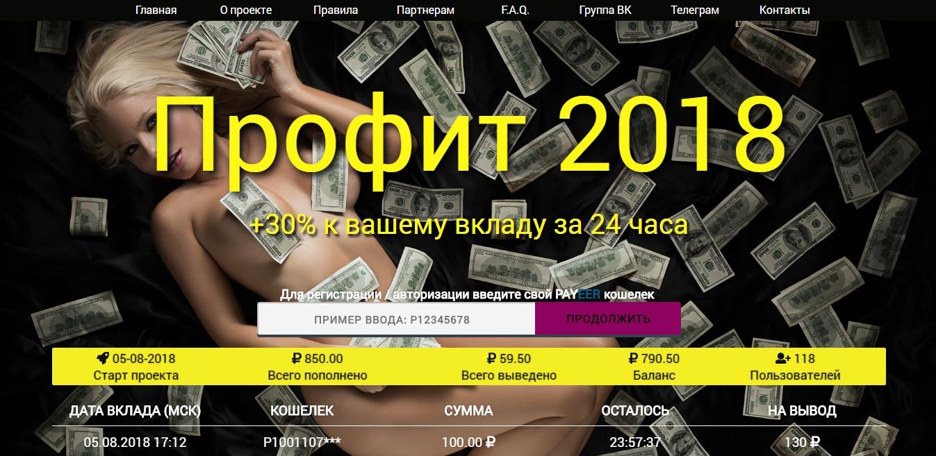 Постер к новости Profit 2018