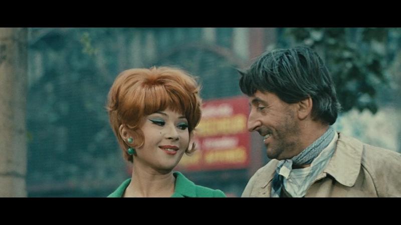 Х/Ф Идиот в Париже / Чудик в Париже / Un idiot à Paris (Франция, 1967) Комедийный фильм, мелодрама режиссёра Сержа Корбера.