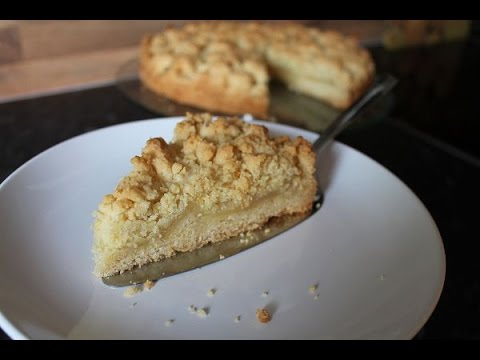 Schneller Apfelkuchen mit Streuseln Simple Easy Apple Crumble Pie Recipe ENG SUBS