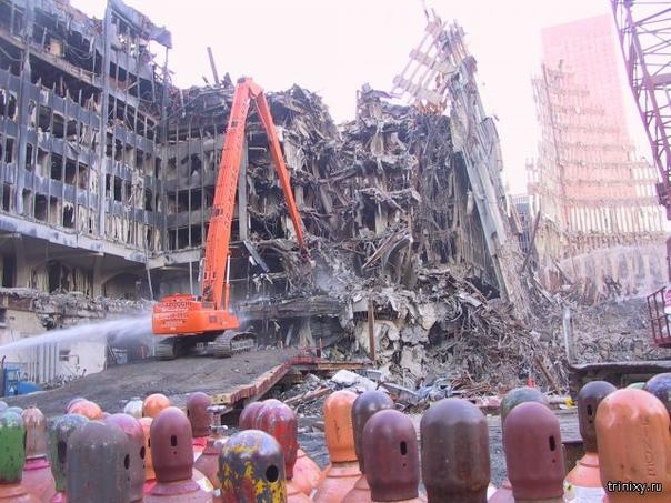 Жуткие последствия трагедии 11 сентября 2001 г.