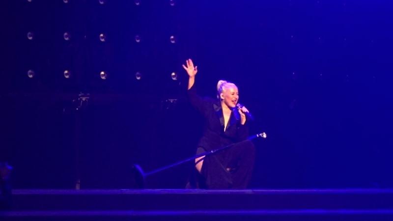 Концерт Кристины Агилеры в Радио-Сити-Мьюзик-Холл, Нью-Йорк, 03.10.2018 (7)