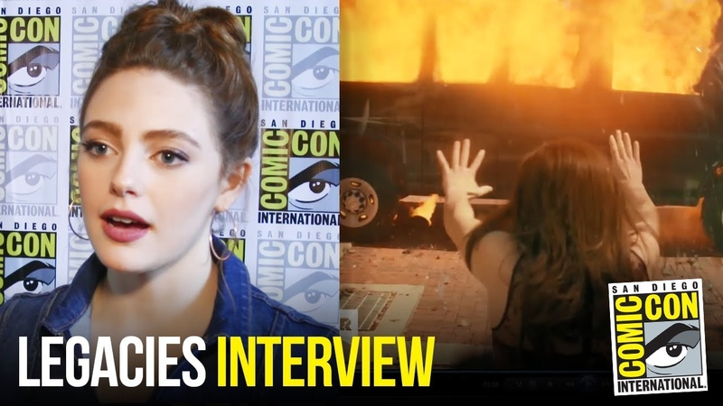 Danielle Rose Russell Reacts to New Legacies Trailer at Comic Con 2018