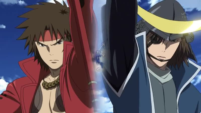 Sengoku Basara l Эпоха Смут — 11 серия 2 сезон [FassaD]