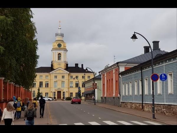 Путешествие на пароме в Финляндию. Finland .