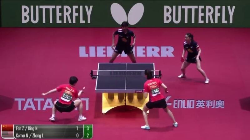2019 ITTF WC Q Fan Zhendong Ding Ning vs Lily Zhang Kumar Nikhil