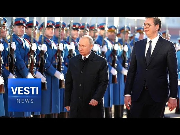 A Bond of Blood and Faith Masses of Serbs Show Support For Putin During Historic Belgrade Visit!
