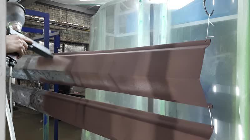 Процес порошковой покраски