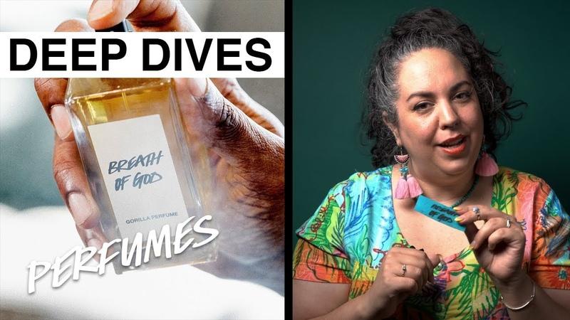 Lush Deep Dives Perfumes