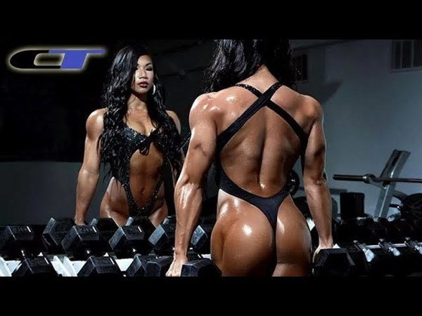 Tina Nguyen muscular asian girl sexy ifbb pro bodybuilding motivation