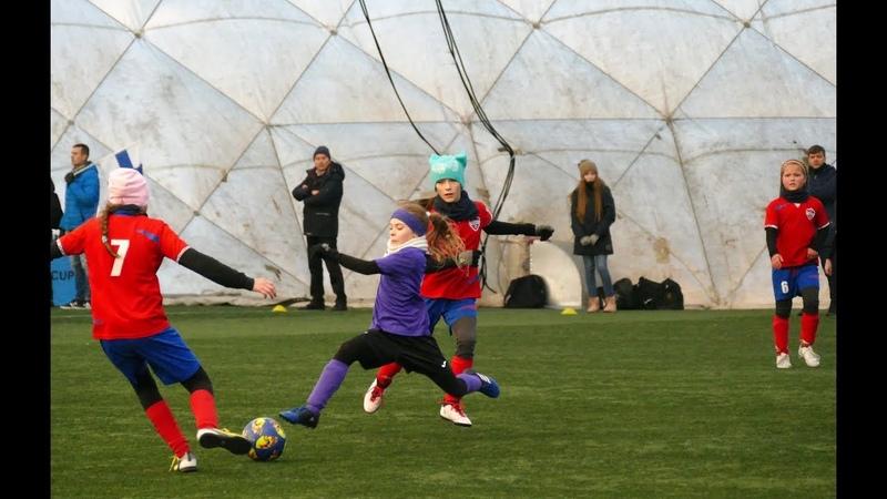 Reval Cup 2018 (24/11/18). FC 89 Höyrytytöt (08/09, FIN) - Minsk Ladies (08/09, BLR) 0-8