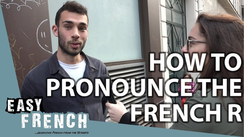 How to pronounce the French R | Easy French 81