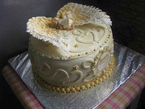 украшение тортов мастика фото ангела