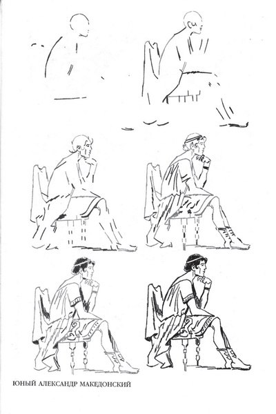 Уроки рисования человека карандашом