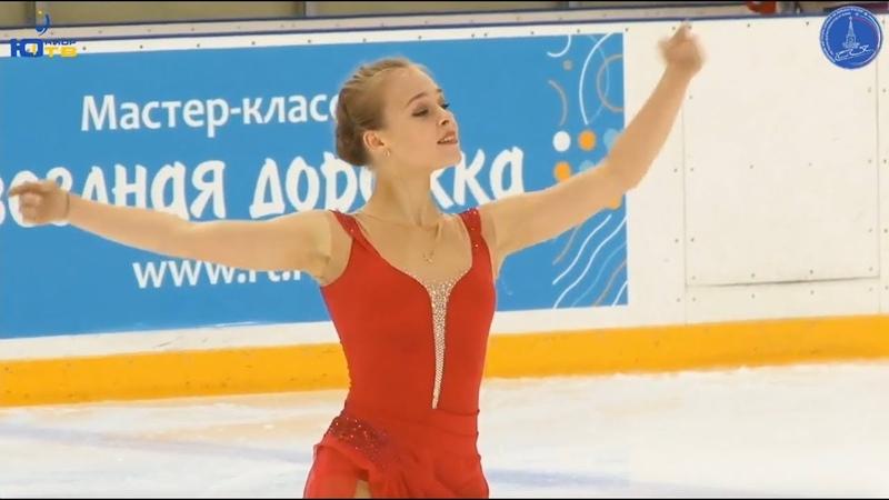Анастасия ГУБАНОВА / Anastasiia Gubanova - Кубок России - 2018 1-й этап - SP - 17 сентябрь 2018