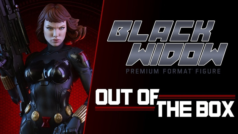 Black Widow Premium Format™ Figure Out of the Box - Exclusive