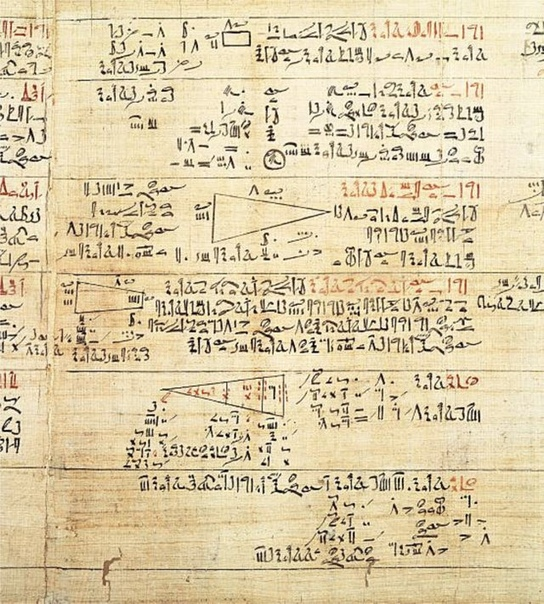 Риндский папирус, Египет 15 в. до н. э.