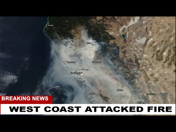 MORE PROOF WEST COAST WAS ATTACKED FIRE STORMS Weather Warfare Liv