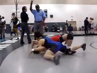 Strong Woman Pins a Man - Competitive Mixed Wrestling (Freestyle wrestling)