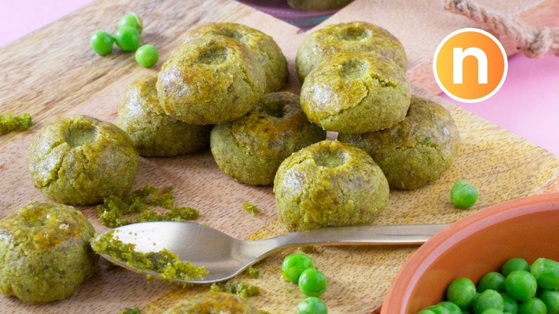 Green Pea Cookies | 青豆饼 | Biskut Kacang Hijau [Nyonya Cooking]
