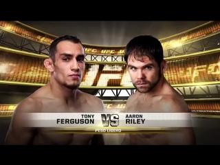 Тони Фергюсон vs Аарон Райли. Tony Ferguson vs Aaron Riley UFC 135