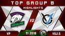 VP vs VGJ.Storm - TOP of Group B! TI8 The International 2018 Highlights Dota 2