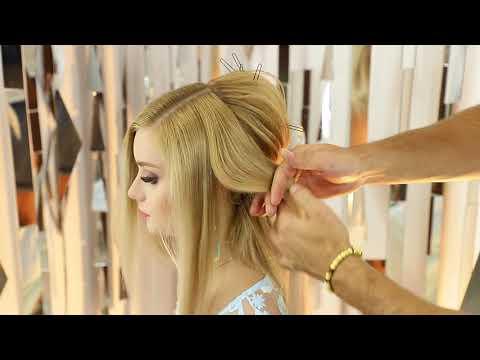 Romantic hairstyle, long tutorial! Farrukh Shamuratov