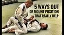 Jiu-Jitsu Escapes | 5 Ways Out of The Mount