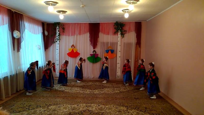 Детский сад № 93. Танец Маков цвет подготовительная группа