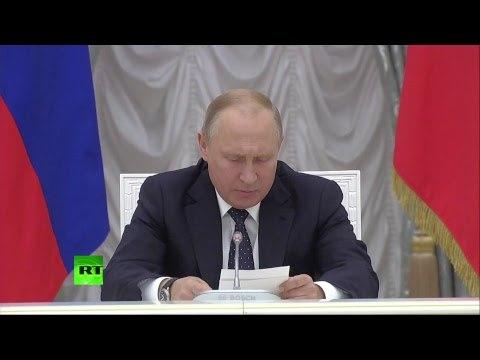 Владимир Путин встречается с новым правительством России