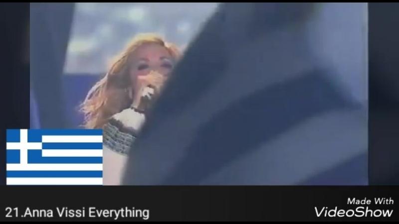 Греция на Евровидении мой топ 39 1974-2018
