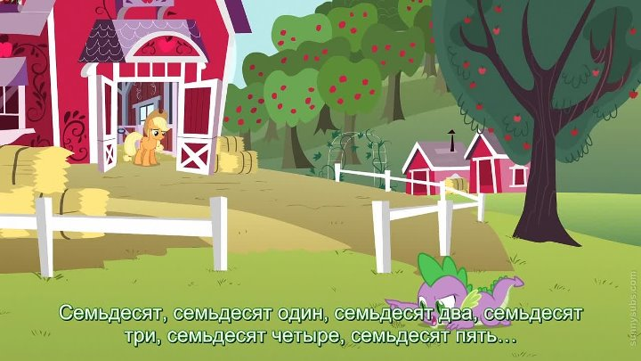 My Little Pony: FiM | Сезон 3, серия 9 — Spike at Your Service [HD] [русские субтитры]