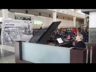 Ярославский вокзал, 1 ноября 2017 года.