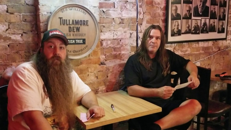 Shawn Drover from Act of Defiance (ex Megadeth) Takes Over Heavy Metal and Booze