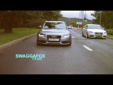 Twin Wagon Audi's SWAGGAFOX FILMS