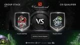 Team Empire vs Team Spirit, The International CIS QL Eiritel