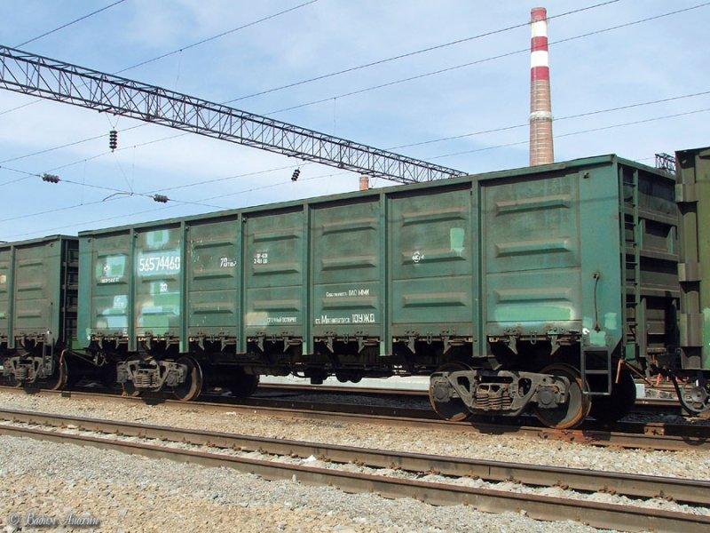 В Таганрог из Казахстана прибыл вагон с радиоактивным металлоломом