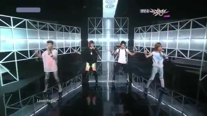 100730 SHINee - Lucifer Live Performace at Musick Bank