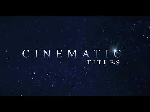 Fast Cinematic Title Trailer Animation In After Effects After Effects Tutorial No plugin