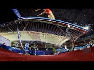 Еще одно очень крутое видео с ЧМ 2013 по прыжкам на батуте/