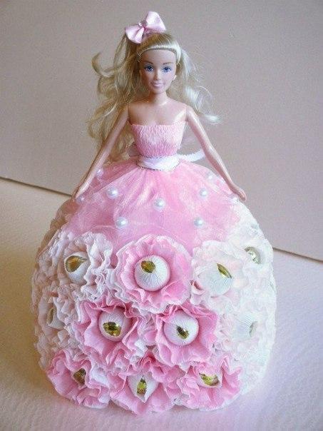 Барби с конфетами своими руками фото 979