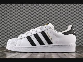Распаковка adidas superstar wmns 80s dlx vintage white / core black