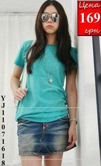 Модные фото Украшенные вышивкой короткие джинсовые юбки.