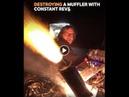 Honda CBR600 Go-Kart backfire, anti-lag, spitting flames compilation - Car Throttle