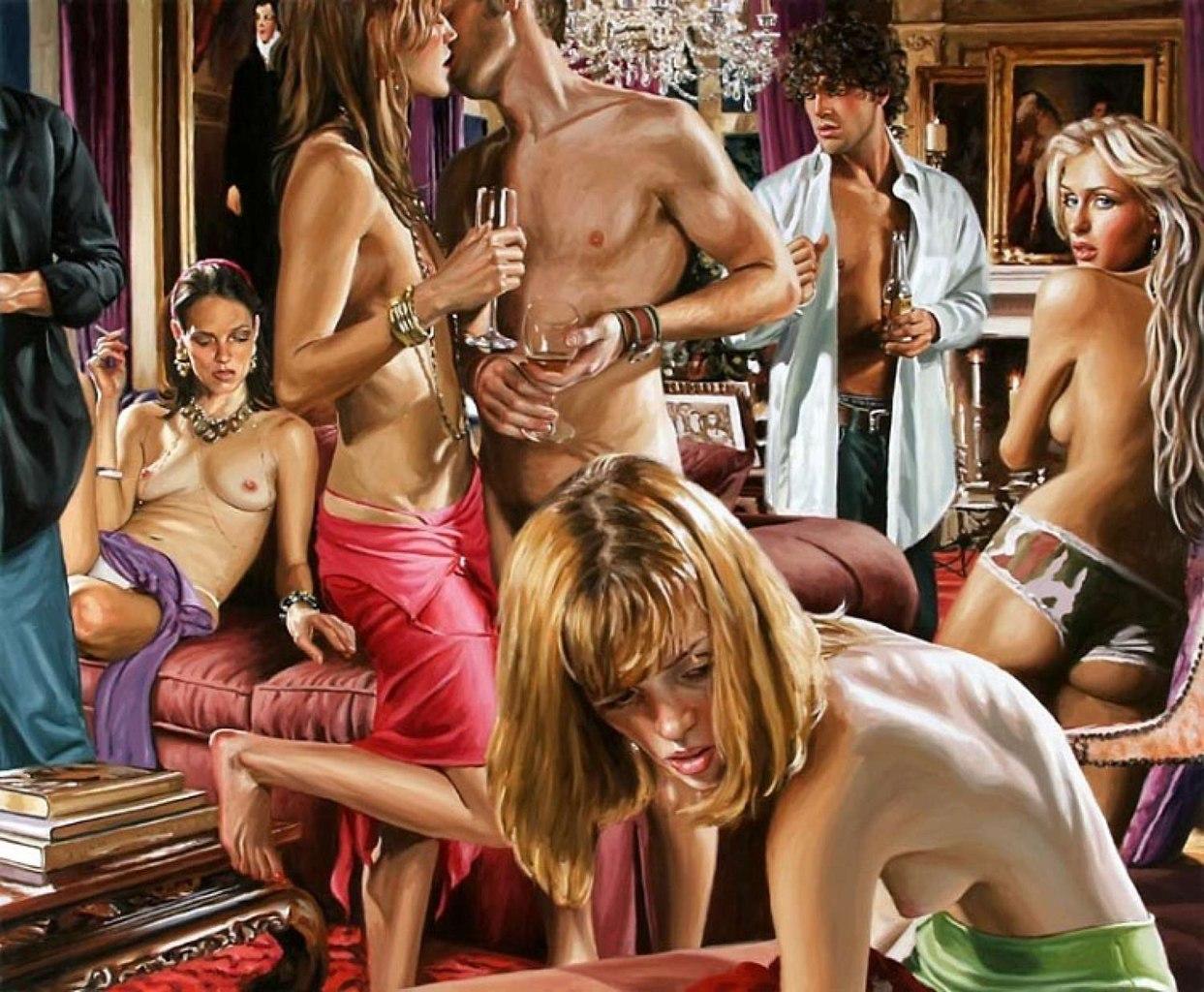 Эротические тусовки молодежи 4 фотография
