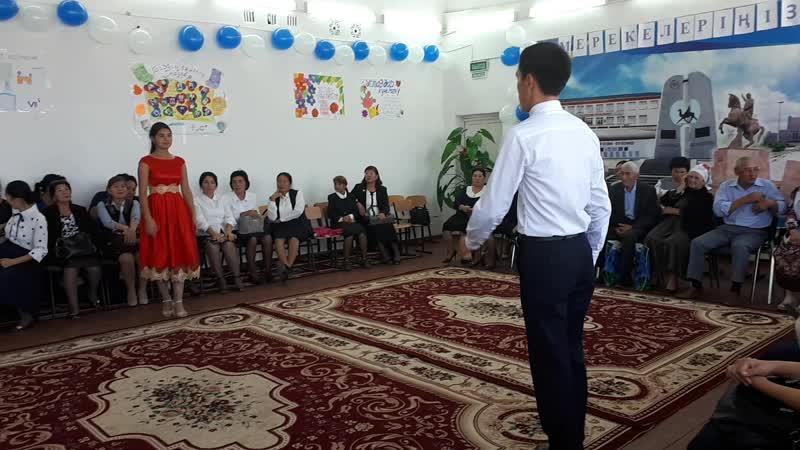 2018 жыл.11А сыныбы.130 Абай атындағы орта мектеп.Ұстаздар мерекесі❤ Валсь