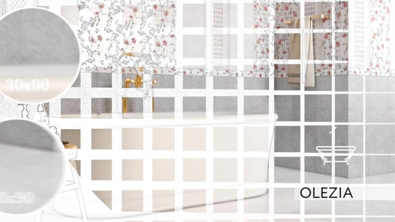 Коллекции крупноформатной керамической плитки Gracia Ceramica